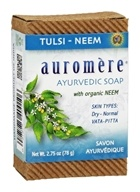 Image of Auromere - Ayurvedic Bar Soap Tulsi-Neem - 2.75 oz.