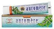 Auromere - Ayurvedic Herbal Toothpaste Licorice - 4.16 oz. - $3.73