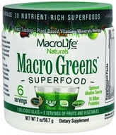 MacroLife Naturals - Macro Greens Superfood - 2 oz.