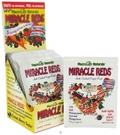 MacroLife Naturals - Miracle Reds Antioxidant Super Food - 12 Packet(s) formerly Miracle Greens by MacroLife Naturals