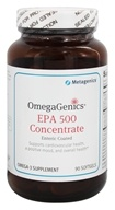 Image of Metagenics - OmegaGenics EPA 500 Concentrate - 90 Softgels (formerly EPA-DHA 6:1 Enteric Coated)