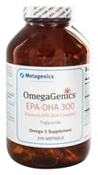 Metagenics - OmegaGenics EPA-DHA 300 - 270 Softgels (formerly EPA-DHA Complex)