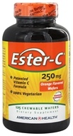 Image of American Health - Ester-C Chewable Wafers Orange Flavor 250 mg. - 125 Wafers