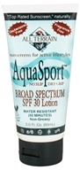Image of All Terrain - AquaSport Performance Sunscreen 30 SPF - 3 oz. CLEARANCE PRICED