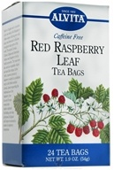 Alvita - Red Raspberry Leaf Caffeine Free - 24 Tea Bags