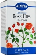 Alvita - Rose Hips Caffeine Free - 30 Tea Bags, from category: Teas