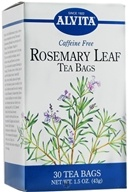 Alvita - Rosemary Leaf Caffeine Free - 30 Tea Bags, from category: Teas