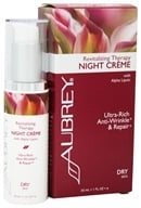 Aubrey Organics - Revitalizing Therapy Night Creme with Alpha Lipoic - 1 oz. Formerly Rosa Mosqueta Night Cream (749985010979)