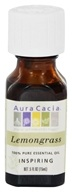 Aura Cacia - Essential Oil Inspiring Lemongrass - 0.5 Oz.