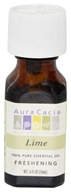 Aura Cacia - Essential Oil Freshening Lime - 0.5 oz. (051381911263)