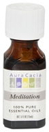 Aura Cacia - Essential Oil Meditation Blend - 0.5 fl. oz.