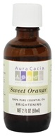 Aura Cacia - Essential Oil Brightening Sweet Orange - 2 oz. (051381911867)