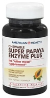 American Health - Super Papaya Enzyme Plus - 90 Chewable Tablets (076630502030)