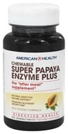 American Health - Super Papaya Enzyme Plus - 90 Chewable Tablets