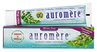 Auromere - Ayurvedic Herbal Toothpaste Mint-Free - 4.16 oz. - $3.73