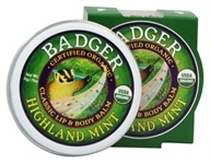 Badger - Lip & Body Balm Highland Mint - 0.75 oz.