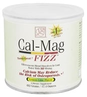 Baywood International - Solutions Cal-Mag Fizz Effervescent Blend Lemon-Lime - 17.4 oz. (780613132212)