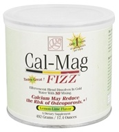 Baywood International - Solutions Cal-Mag Fizz Effervescent Blend Lemon-Lime - 17.4 oz. by Baywood International