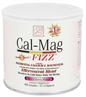Baywood International - Solutions Cal-Mag Fizz Effervescent Blend Mixed Berry Flavor - 17.4 oz.
