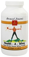 Bernard Jensen - Health-A- Whey Powder - 16 oz. by Bernard Jensen