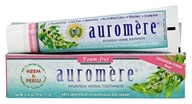 Auromere - Ayurvedic Herbal Toothpaste Non-Foaming Cardamom-Fennel - 4.16 oz. (027275200058)