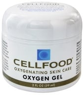Cell Food Oxygen Gel Oxygenating Skin Care - 2 oz. by Lumina Health