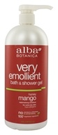 Image of Alba Botanica - Very Emollient Bath & Shower Gel Honey Mango - 32 oz.