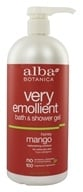 Alba Botanica - Very Emollient Bath & Shower Gel Honey Mango - 32 oz.