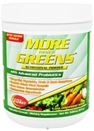 American Health - More Than A Greens Nutritional Powder with Advanced Probiotic Formula - 9.24 oz. (076630052252)
