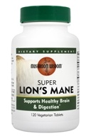 Image of Mushroom Wisdom - Super Lion's Mane with Maitake D Fraction - 120 Tablets Formerly Maitake Products