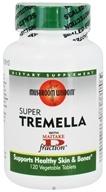Mushroom Wisdom - Super Tremella with Maitake D Fraction - 120 Vegetarian Caplet(s) Formerly Maitake Products CLEARANCED PRICED by Mushroom Wisdom