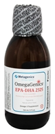 Metagenics - OmegaGenics EPA-DHA 2325 Liquid Natural Lemon Flavor - 150 ml. (formerly EPA-DHA High Concentrate Liquid) by Metagenics