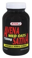 Action Labs - Avena Sativa Wild Oats 750 mg. - 100 Capsules with Oat Straw Extract - $15.53