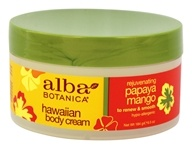 Image of Alba Botanica - Alba Hawaiian Body Cream Papaya Mango - 6.5 oz.