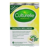 Culturelle - Probiotic Health & Wellness Daily Probiotic 15 Billion CFU - 30 Vegetarian Capsules