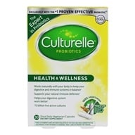 Culturelle - Probiotic Health & Wellness Daily Probiotic - 30 Vegetarian Capsules