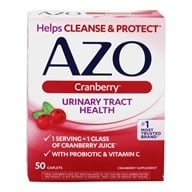 Azo - Cranberry Urinary Tract Health - 50 Caplets - $7.15