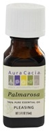 Aura Cacia - Essential Oil Pleasing Palmarosa - 0.5 oz.