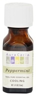 Aura Cacia - Essential Oil Cooling Peppermint - 0.5 oz.