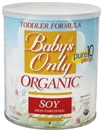 Nature's One - Baby's Only Organic Soy Toddler Formula Iron Fortified - 12.7 oz.