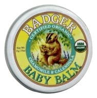 Badger - Baby Balm Chamomile & Calendula - 0.75 oz. by Badger