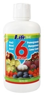 LifeTime Vitamins - 6 Blend Fruit Juice - 32 oz.