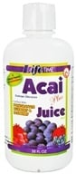LifeTime Vitamins - Acai (Euterpe Oleracea) Plus Juice Blend fortified - 32 oz.