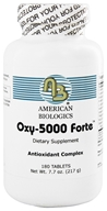 Image of American Biologics - Oxy-5000 Forte - 180 Tablets
