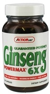 Action Labs - Ginseng Powermax 6X - 50 Capsules