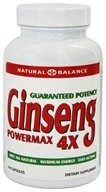 Action Labs - Ginseng Powermax 4X - 100 Capsules, from category: Nutritional Supplements