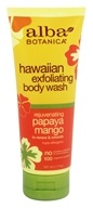 Image of Alba Botanica - Alba Hawaiian Body Wash Exfoliating Papaya Mango - 7 oz.