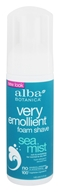Alba Botanica - Very Emollient Foam Shave Sea Mist - 5 oz., from category: Personal Care