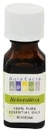 Image of Aura Cacia - Essential Oil Blends Relaxation - 0.5 oz.
