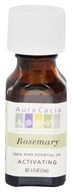 Image of Aura Cacia - Essential Oil Activating Rosemary - 0.5 oz.